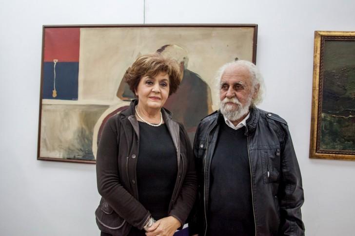 Radmila Obradović i Mile Petrović