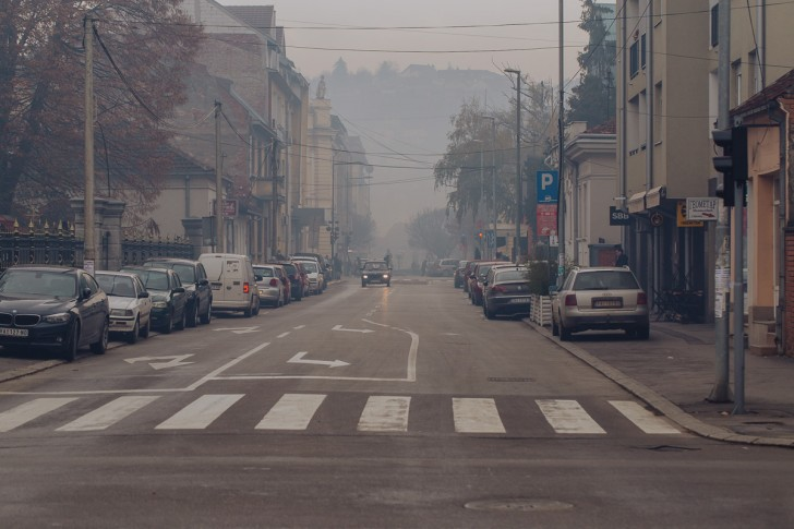 Jako zagađen vazduh u Valjevu